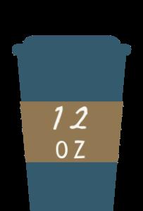 12oz coffee