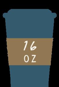 16oz coffee